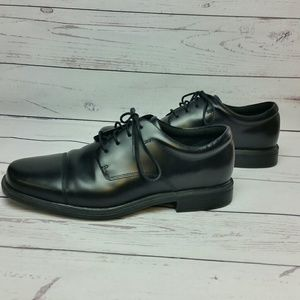 Rockport Leather Cap Toe Derby Oxfords Shoes 9.5W